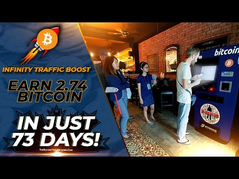 🚀Infinity Traffic Boost - How You Earn 2.74 BitCoin In Just 73 Days! (100% FREE)