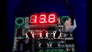 Електронний термостат W1209