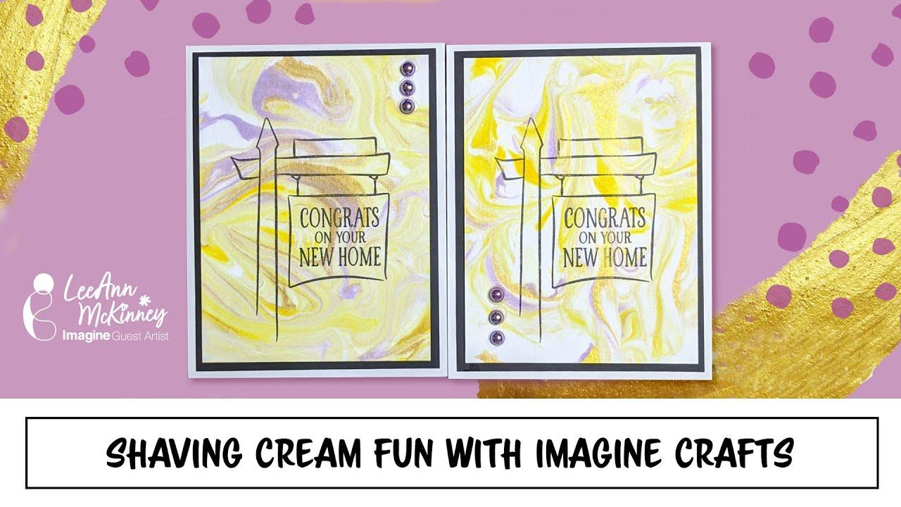 Shaving Cream Fun with Imagine Crafts