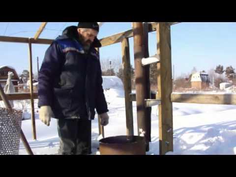 видео: Печь для теплицы.mp4