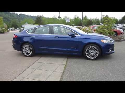 2013 Ford Fusion, Deep Impact Blue - STOCK# 13-2899A