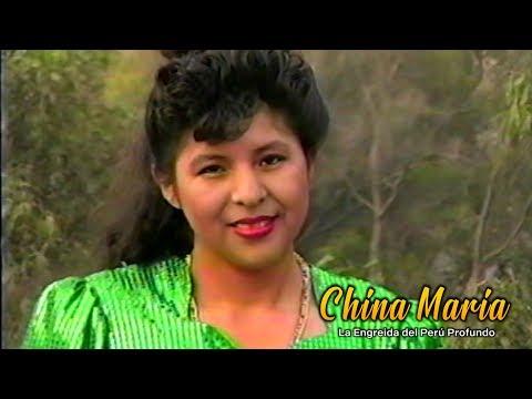 """CHINA MARÍA """"QUINIENTOS AMORES"""" (Video Original Remasterizado)  HUAYNO CON REQUINTO"""