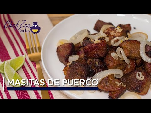Masitas De Puerco | Fried Pork Chunks | Cuban Recipes | Chef Zee Cooks