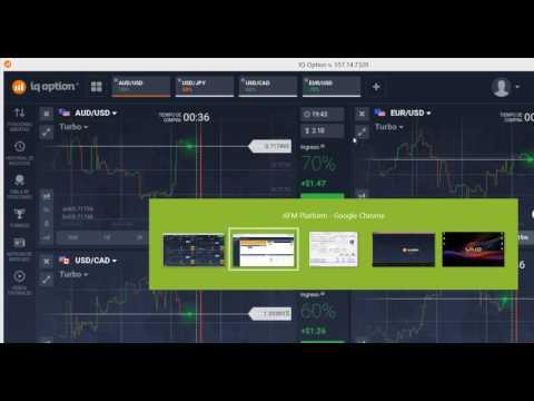 Trading Opciones Binarias en Vivo #1 | Probando Robot Binario con IQ OPTION 14.46% de Beneficio