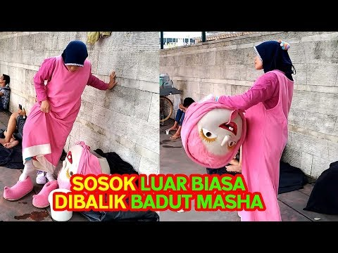Behind the scene Masha and the Bear - Dibalik layar Badut Masha