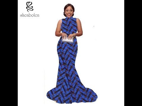 Modern African Dresses  Best 2018 Beautiful and Trendy Collection of #Afric
