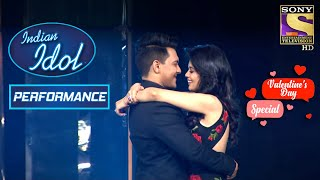 Indian Idol के Stage पे बना Romantic माहौल | Indian Idol Season 12 | Valentine's Day Special