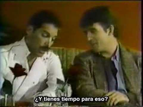 Freddie Mercury interview - China Club, NY (subtitles)