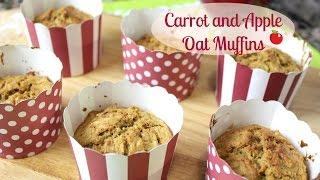 Carrot And Apple Oats Muffins | Sandracarolina