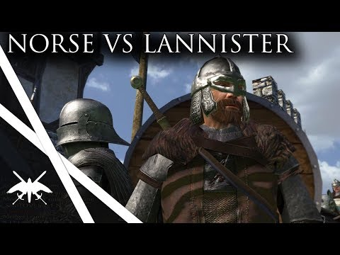 Norse Empire Battles Lannister Army - Mount & Blade Persistent World