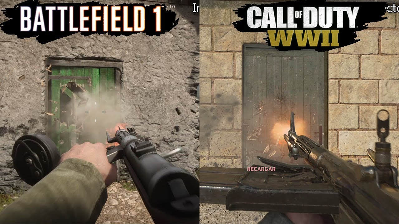 Image result for call of duty WWII vs battlefield 1