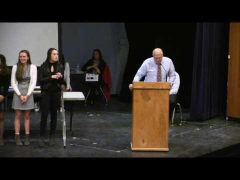 Winter Sports Awards March 15, 2017