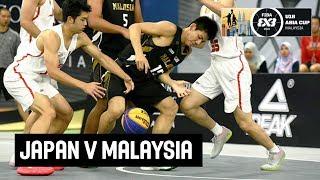 Japan v Malaysia - Full Game - FIBA 3x3 U18 Asia Cup 2018