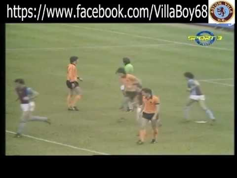 Wolverhampton Wanderers 0 Aston Villa 3 - League Div 1 - 24th Oct 1981
