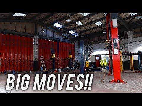 THEY GOT A NEW GARAGE!!