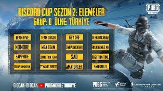 Avrupa Discord Cup Sezon 2: Elemeler Grup - D