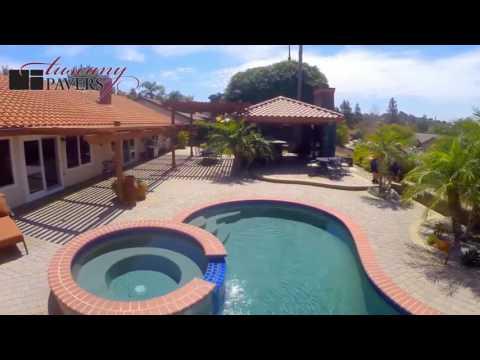 Tuscany Pavers Southern California UAV Promotional Video