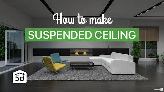 Suspended ceiling by Planner 5D