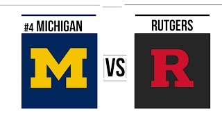 Week 11 2018 #4 Michigan vs Rutgers Full Game Highlights
