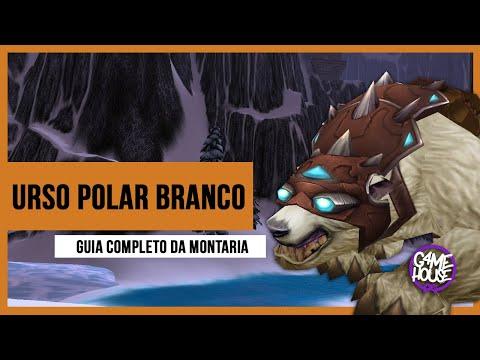 World of Warcraft - Urso Polar Branco