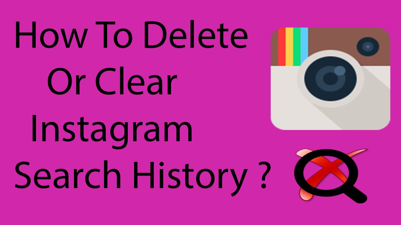 How To Clear Or Delete Search History On Instagram On Android 2016 ?