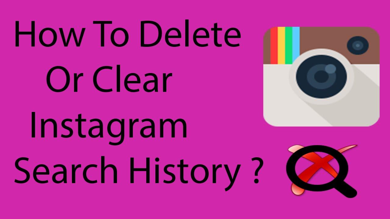 Kako izbrisati istoriju pretrage na Instagramu