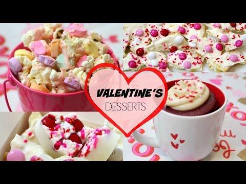 NO BAKE VALENTINE'S DAY TREATS