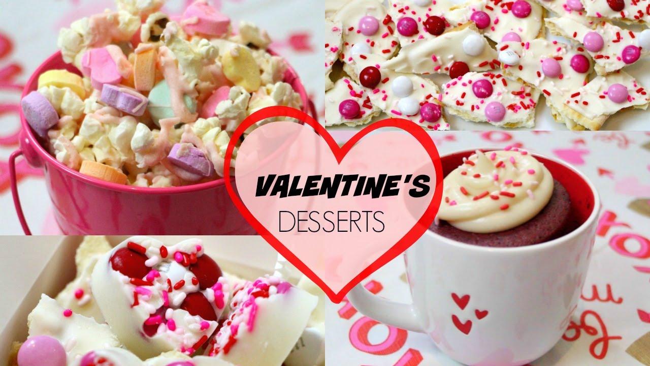 NO BAKE VALENTINE\'S DAY TREATS - YouTube