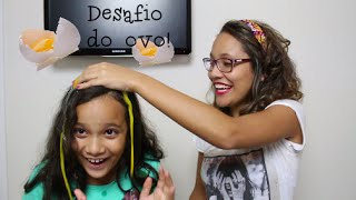 DESAFIO DO OVO! (ft. Juliana Baltar)