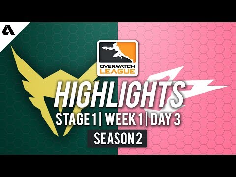 LA Valiant vs Hangzhou Spark | Overwatch League S2 Highlights - Stage 1 Week 1 Day 3 thumbnail