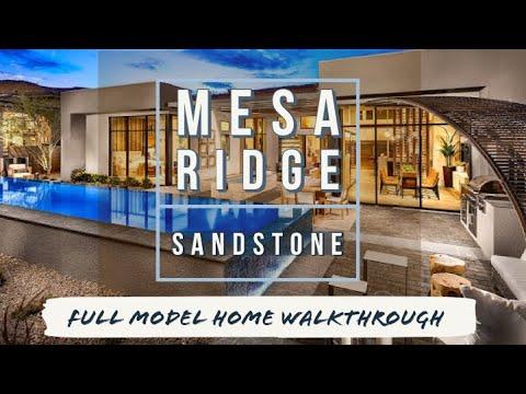 Sandstone Model | Mesa Ridge | Summerlin Las Vegas Home For Sale | Low $800s [Full Walkthrough]