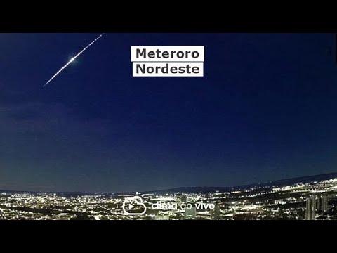 8 Câmeras registraram meteoro no CE, PB e PE - 16/06/21