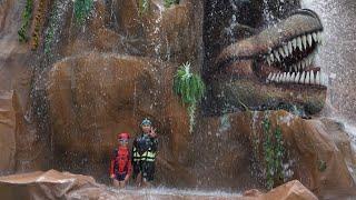 สวนน้ำเชียงใหม่   แกรนแคนยอน   น้องนะโม จีวร เล่นน้ำสวนน้ำกัน