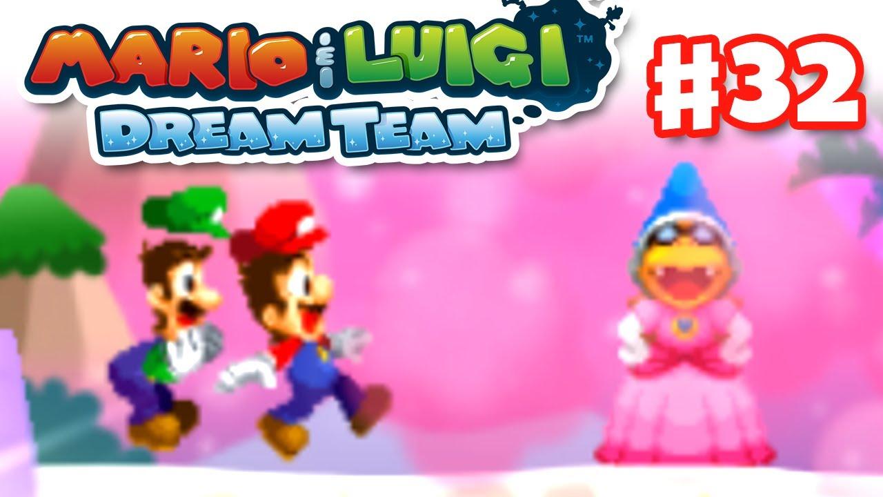 Mario Luigi Dream Team Gameplay Walkthrough Part 32