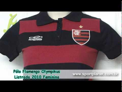 Camisa Polo Flamengo Feminina Olympikus | SportPlanet