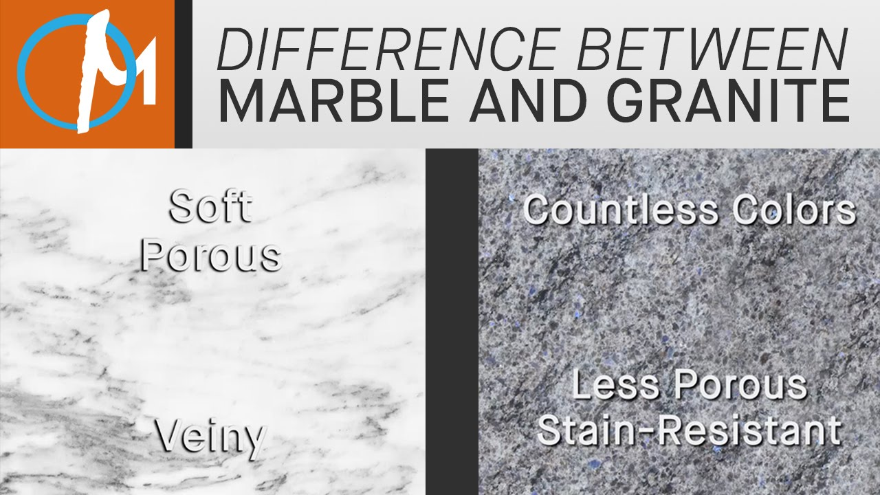 How To Tell Granite From Marble L Marble Com Youtube