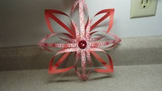 Finnish Star Decoration/Ornament  - 3-D paper star