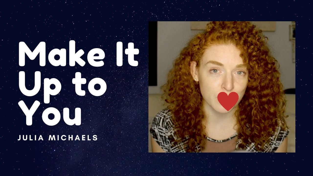 Make It Up To You — Julia Michaels (Cover by Amanda Cunningham)