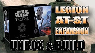 AT-ST Unboxing & Build: Star Wars Legions