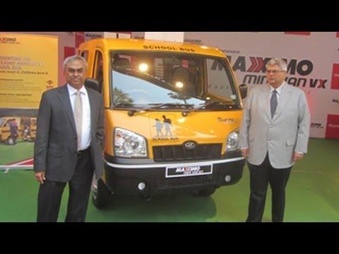 Mahindra Maxximo Mini Van Vx School Bus Launched Take A Look Youtube