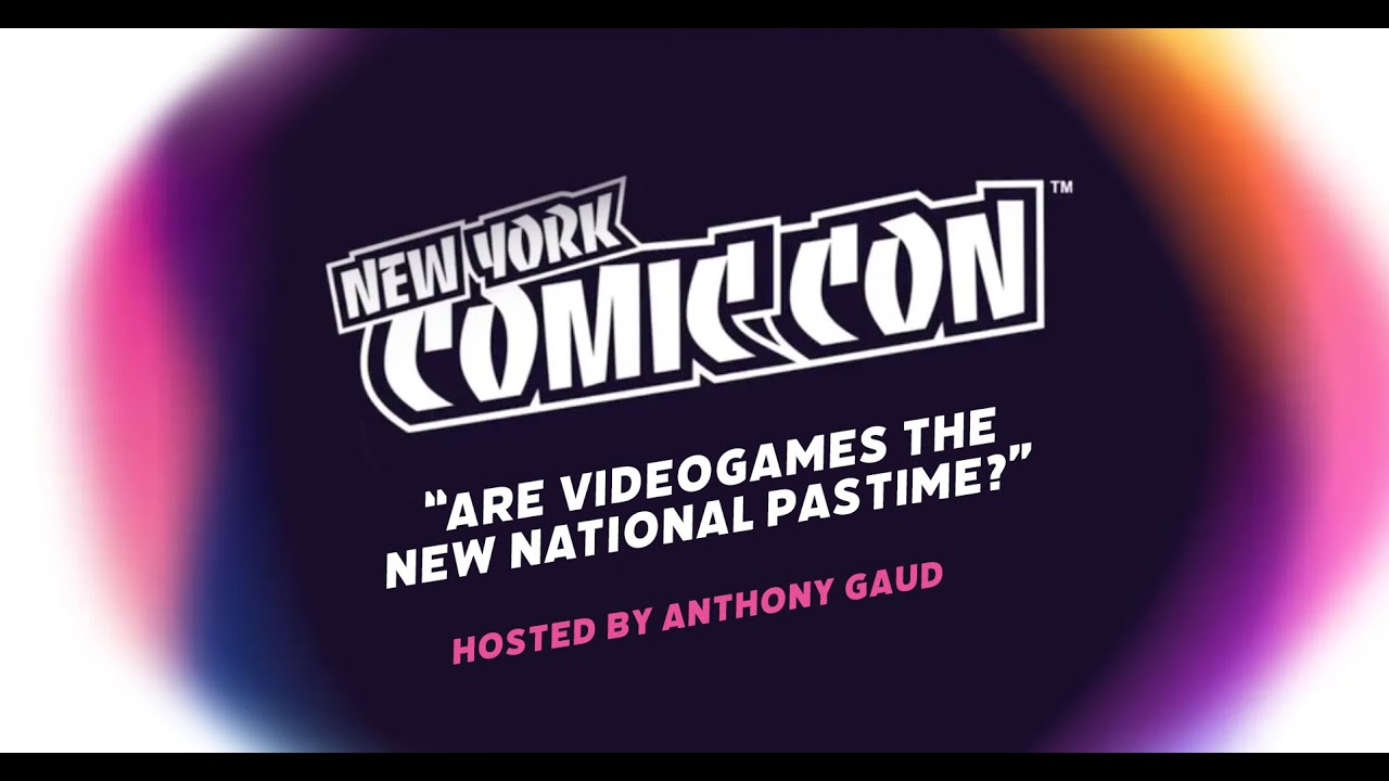 G3 CEO Hosts NYCC Videogames Panel