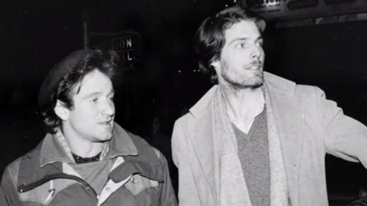 Image result for christopher reeve robin williams