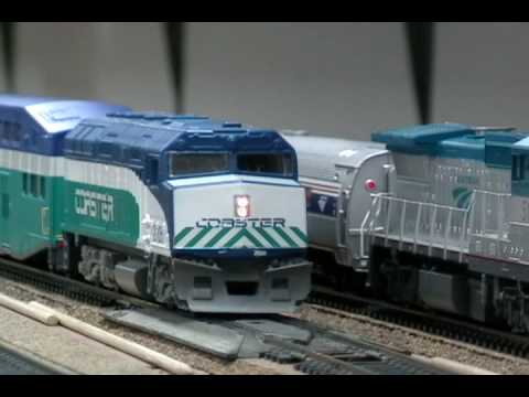 HO scale Coaster F40PH