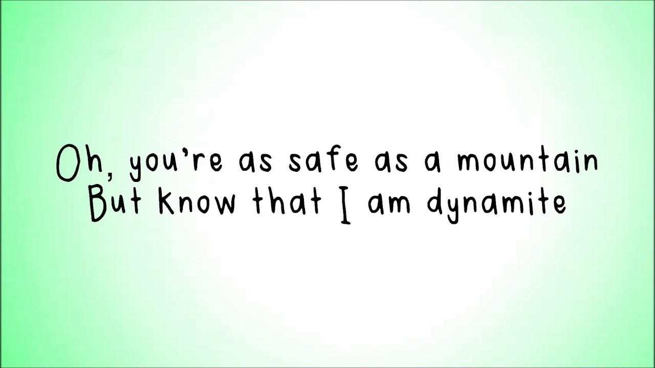 Dynamite Lyrics