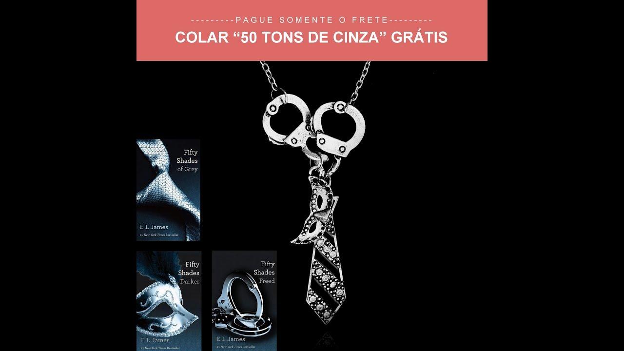 Colar Grátis 50 Tons - CINQUENTA TONS DE LIBERDADE   Trailer 2018