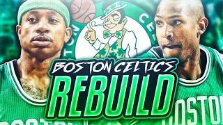 REBUILDING THE BOSTON CELTICS! NBA 2K17 MY LEAGUE