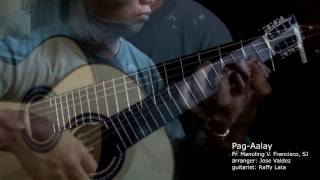 Pag-Aalay - M.V. Francisco, SJ (arr. Jose Valdez) Solo Classical Guitar