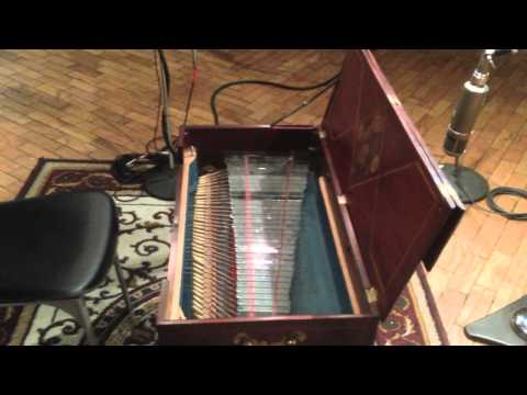 Benjamin Franklin Instrument Collection - Glass-Cord, by Beyer