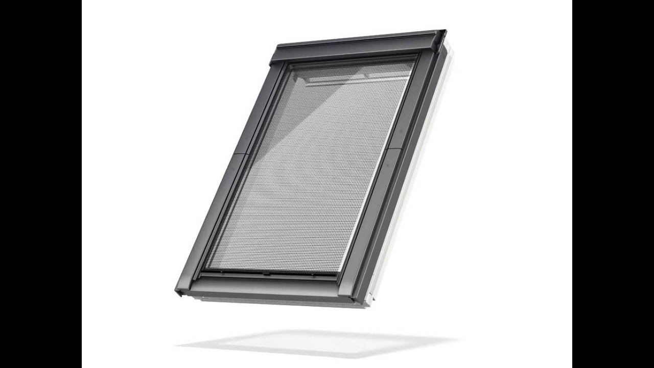 velux awning blinds youtube. Black Bedroom Furniture Sets. Home Design Ideas