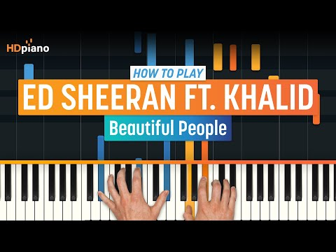 "how-to-play-""beautiful-people""-by-ed-sheeran-ft.-khalid-